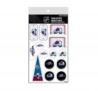 Colorado Avalanche Variety Pack Tattoo Set