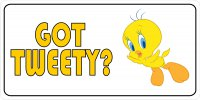 Got Tweety? Tweety Bird Photo License Plate