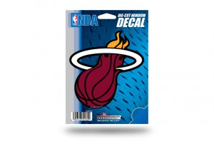 Miami Heat Die Cut Vinyl Decal