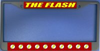 The Flash Photo License Plate Frame