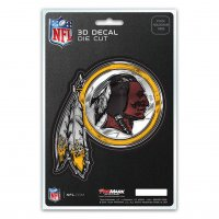 Washington Redskins Die Cut 3D Decal