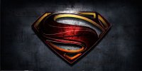 Superman Man Of Steel Photo License Plate