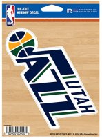 Utah Jazz Die Cut Vinyl Decal