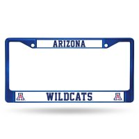 Arizona Wildcats Anodized Blue License Plate Frame