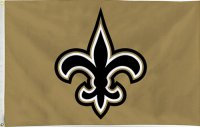 New Orleans Saints Banner Flag