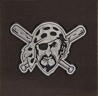 Pittsburgh Pirates Chrome Auto Emblem