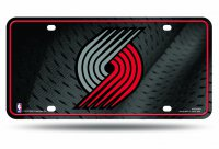 Portland Trailblazers Metal License Plate