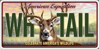 American Expedition WH TAIL Photo License Plate