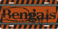 Cincinnati Bengals Construction License Plate