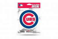 Chicago Cubs Die Cut Vinyl Decal
