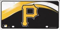 Pittsburgh Pirates Metal License Plate