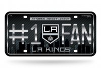 Los Angeles Kings #1 Fan Metal License Plate