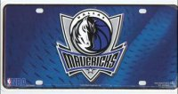 Dallas Mavericks License Plate