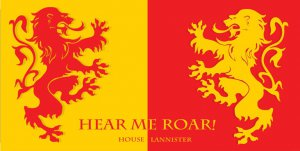 House Lannister ... Photo License Plate