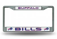 Buffalo Bills Glitter Chrome License Plate Frame