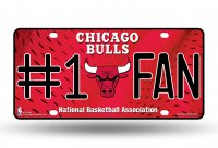 Chicago Bulls #1 Fan License Plate