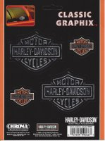 Harley-Davidson - Bar & Shield 4-Piece Set - Classic Graphix Dec