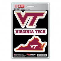 Virginia Tech Hokies Team Decal Set