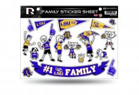 LSU Family Decal Set