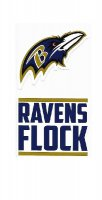 Baltimore Ravens Double Up Die Cut Vinyl Stickers