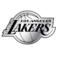 Los Angeles Lakers NBA Auto Emblem
