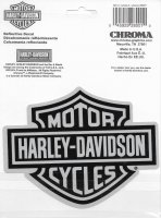 Harley-Davidson Bar & Shield Reflective Decal