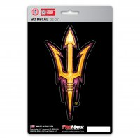 Arizona State Sun Devils Die Cut 3D Decal