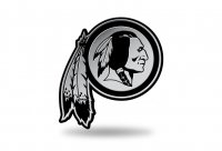 Washington Redskins NFL Plastic Auto Emblem