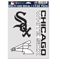 Chicago White Sox 3 Fan Pack Decals