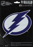 Tampa Bay Lightning Glitter Die Cut Vinyl Decal