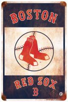 Boston Red Sox Retro Parking Sign