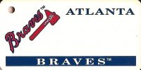 Atlanta Braves MLB Key Chain