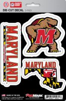 Maryland Terrapins Team Decal Set