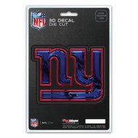 New York Giants Die Cut 3D Decal