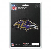 Baltimore Ravens Die Cut 3D Decal