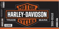Harley-Davidson Bar And Shield Large Decal