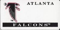 Atlanta Falcons NFL Key Chain