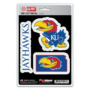 Kansas Jayhawks Team Decal Set