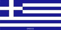 Greece Flag Photo License Plate