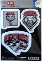 New Mexico Lobos Team Decal Set