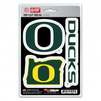 Oregon Ducks Team Decal Set