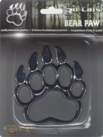 Bear Paw Chrome Auto Emblem