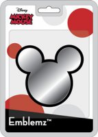 Mickey Mouse Ears Chrome Auto Emblem