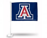 Arizona Wildcats Car Flag