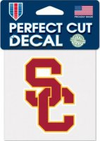 USC Trojans Perfect Cut Vinyl Decal