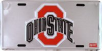 Ohio State Anodized License Plate
