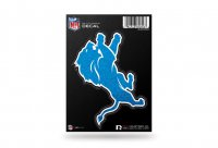 Detroit Lions Glitter Die Cut Vinyl Decal