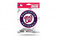 Washington Nationals Die Cut Vinyl Decal
