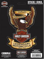 Harley-Davidson Eagle Decal