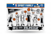 San Antonio Spurs Family Decal Set
